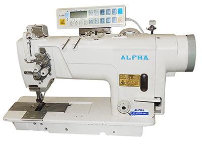 Pespontadeira 2 agulhas Alpha LH-58720D