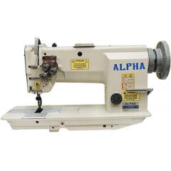 Transporte duplo 2 agulhas barra fixa Alpha LH-2052-H
