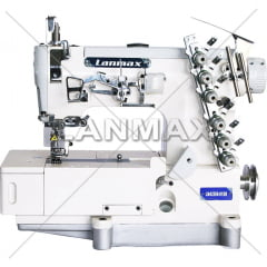 Galoneira Plana com 4 Agulhas Lanmax LM-42500-01-DB